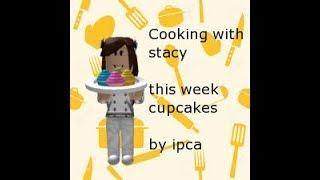 Cuisiner avec Stacy Cupcakes- Roblox Court métrage