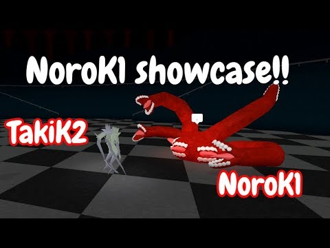 NoroK1 Showcase!! | TakiK2 vs NoroK1| Ro-Ghoul