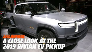 A Close Look At The 2019 Rivian EV Pickup
