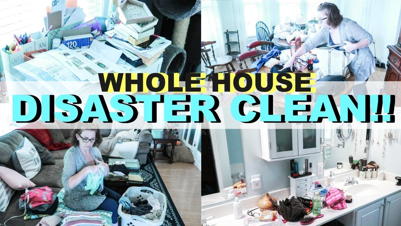 Ultimate Clean With Me Extreme Cleaning Organize Declutter Messy Motivation