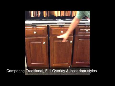 Kitchen Cabinet Door Styles: Comparing Traditional, Full Overlay ...