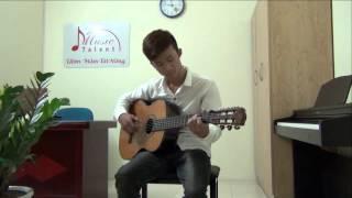 KHÓA HỌC GUITAR NÂNG CAO - Học chơi guitar - Thầy Tuấn Anh Guitar - Trung Tâm Music Talent