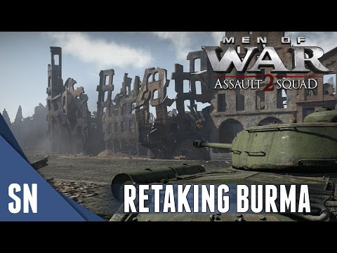 RETAKING BURMA! - Men of War: Assault Squad 2 MOD