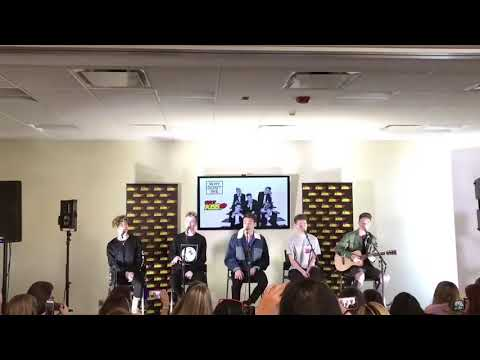 Why Don't We - Trust Fund Baby (Acoustic Version) Live @ 103.7 Kiss-Fm