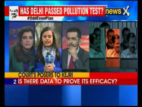 Delhi HC to hear on Odd-even data today at noon