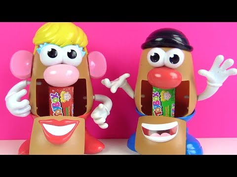 Bay Ve Bayan Patates Kafalar Kafalarının Içinden Hangi Toybox Sürpriz Kutu Oyuncakları çıkıyor?