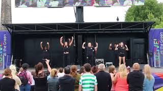 Contemporary dance moves  | Glasgow Green | Achieve More!