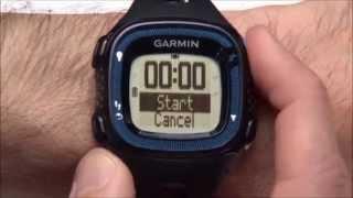 видео Часы Garmin Forerunner 15 HRM