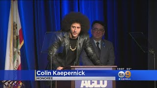 Former 49ers QB Kaepernick Is Secret Honoree At ACLU Bill Of Rights Dinner
