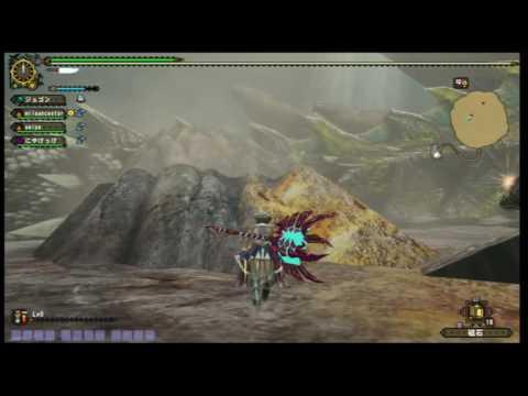 【MHF-G】Gラヴィ  鎚視点 1