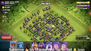 clesh|of|clans|best|air|3|star|attack#289R229L8