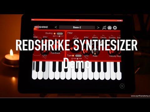 iceGear Instruments Redshrike Synthesizer Demo