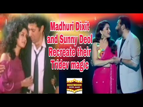 Madhuri Dixit and Sunny Deol recreate their old romance   Mp3