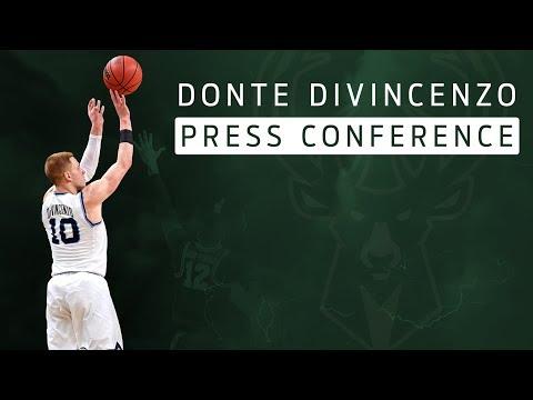 Milwaukee Bucks introduce Donte DiVincenzo