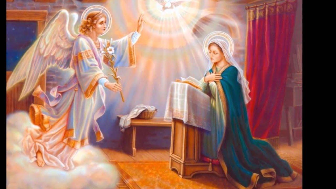 Resultado de imagem para anunciação do anjo gabriel