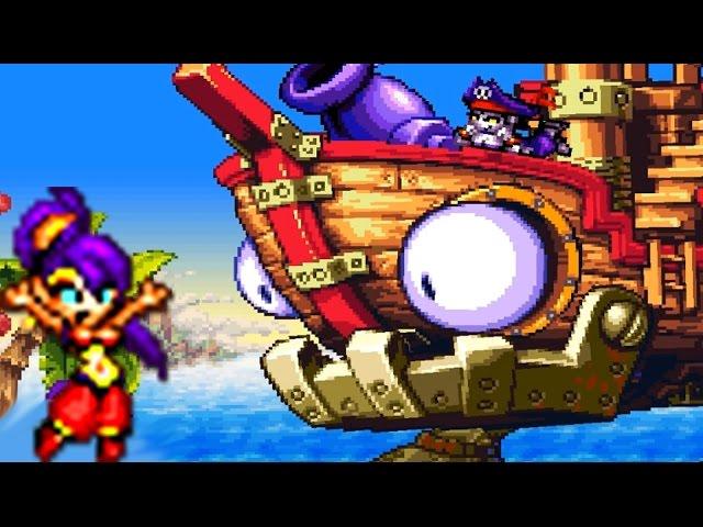 Shantae Risky's Revenge (PC) All Bosses #1