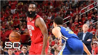Bruce Bowen points to Steph Curry's aggressiveness as to why he was able to rebound from a tough first half in the Golden State Warriors' series-clinching win ...