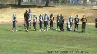 POMONA STEELERS JR. CLINIC 2009(P-TOWN)  VS CALIFORNIA COWBOYS 2009 SYFL