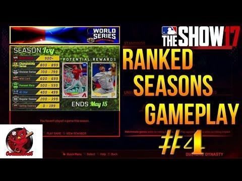 MLB The Show 17 | Ranked Head to Head Seasons | Chris Sale is Dirty!