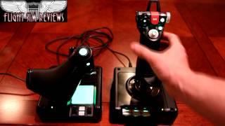 Saitek X52 Pro Joystick Review HD