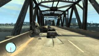 GTA IV: Heavy Car Bridge of Death III