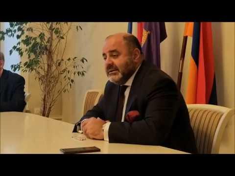Обсуждение актуальных вопросов российско-армянских отношений в армянской общине Санкт-Петербурга