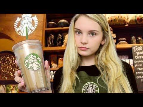 Download Youtube: ASMR B*tchy Brittney Barista - Starbucks Roleplay