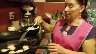 Como hacer tortas de camaron #receta#comida