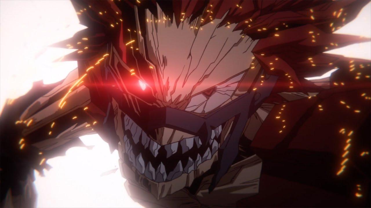 Red Riot Unbreakable My Hero Academia Season 4 Simuldub Clip