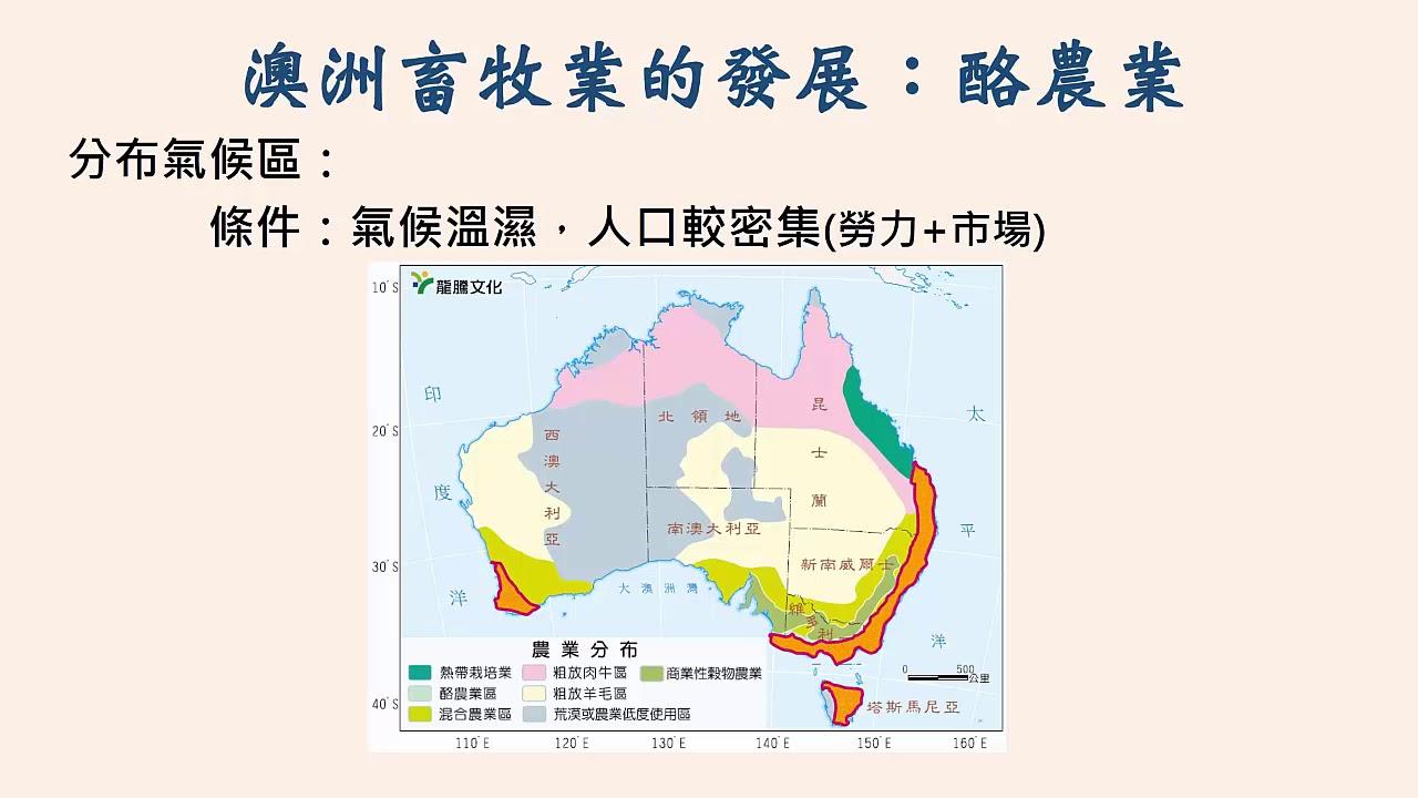 高中地理 澳洲與紐西蘭的產業 - YouTube