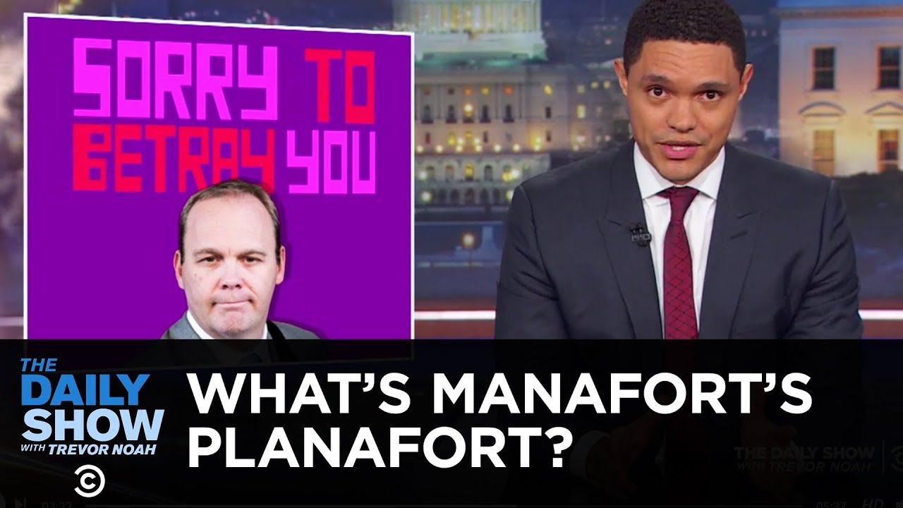Gates & Manafort: The White-Collar Bonnie & Clyde | The Daily Show