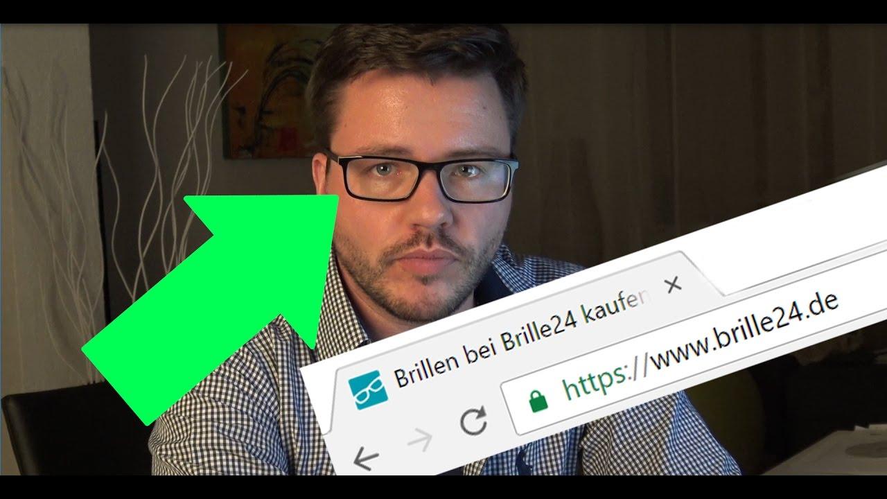 Brille online gekauft bei brille24.de und gespart! - YouTube