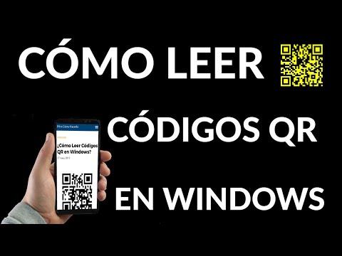 Cómo Leer Códigos QR en PC Windows