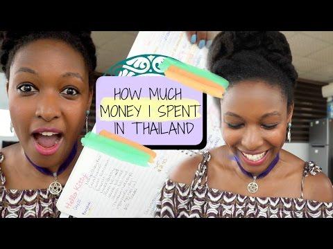 How Much Money I Spent In Thailand