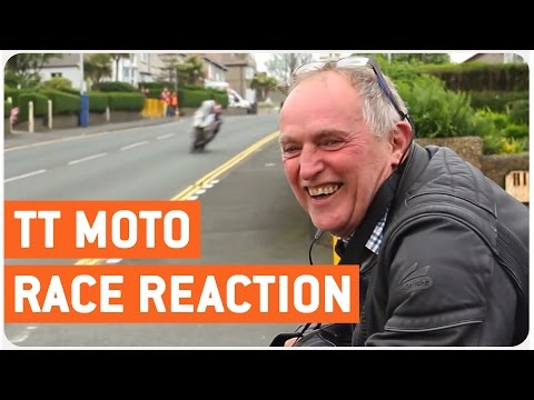 Dad Sees Isle of Man TT Race for the First Time
