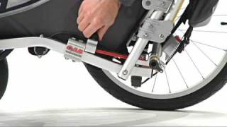 How to adjust the CAS Suspension on a Chariot Carrier