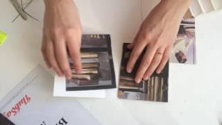 Как сделать коробку в виде книги