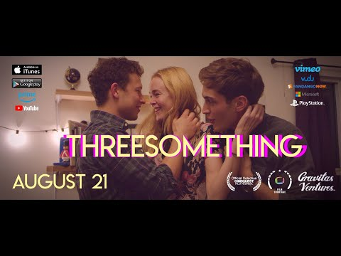 Threesomething - Threesome Scene: www.ThreesomethingFilm.com - Go here for full film!  Directed and edited by James Morosini Co-written by James Morosini and Sam Sonenshine Produced by James Morosini, Sam Sonenshine, & Emily Rowan