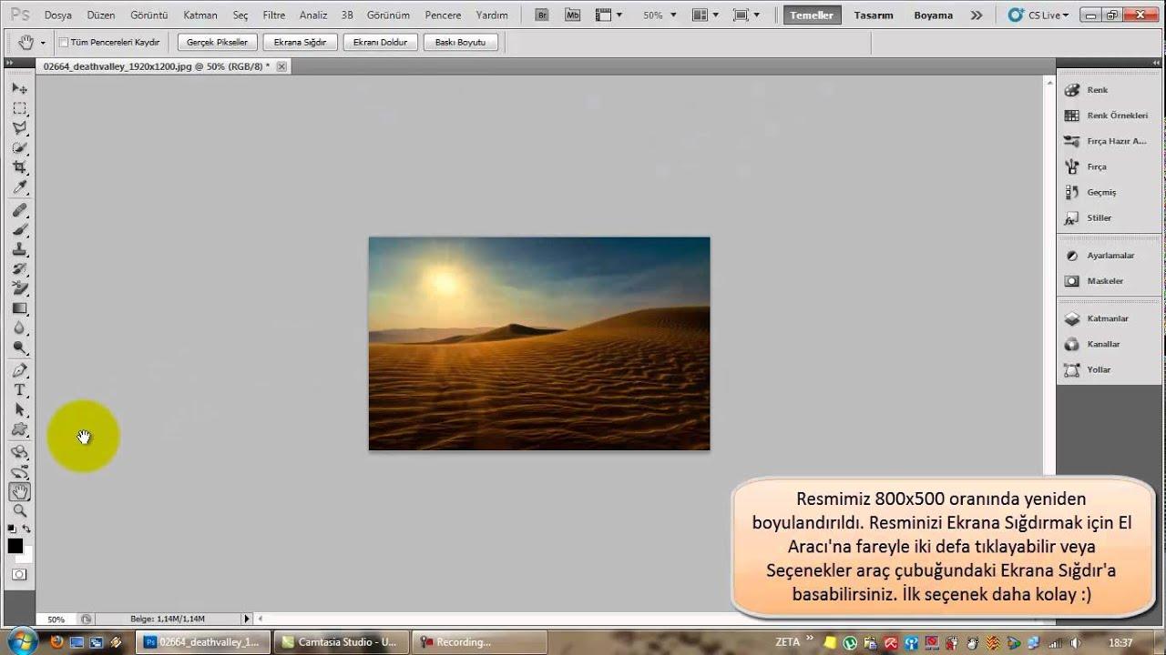 Photoshopta hızlı bir çerçeve nasıl yapılır