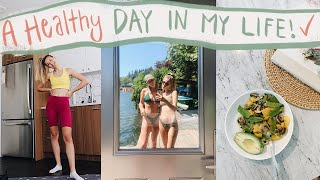 A day in my life | healthy routines & nursing school prep