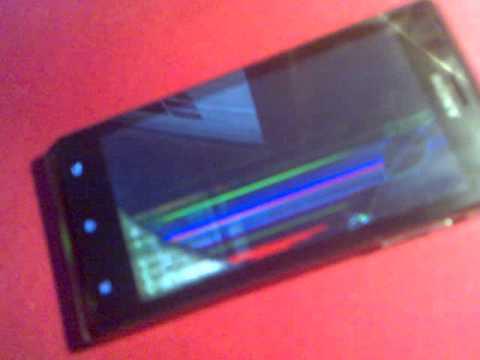 Sony Xperia J uszkodzony lcd