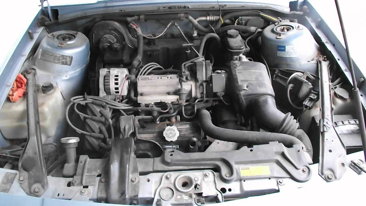 1993 Oldsmobile Cutlass Ciera S Engine Start and Rev
