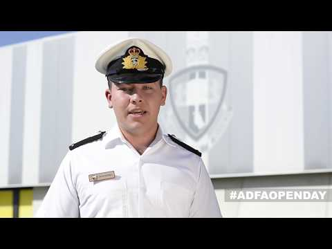 Visit ADFA Open Day 2018 – MIDN Jaycob Humphreys