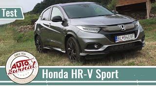 Honda HR-V Sport TEST 2019: HR-V s vyšším výkonom a vylepšeným dizajnom