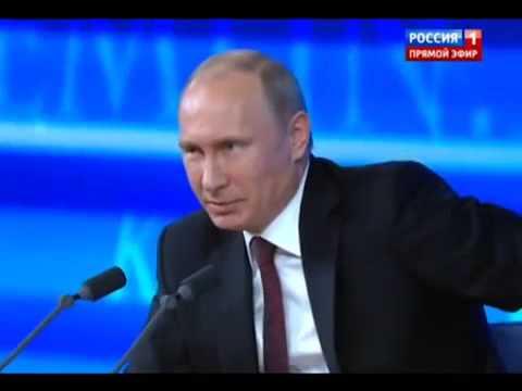 Путин отвечает на вопрос о Сталине