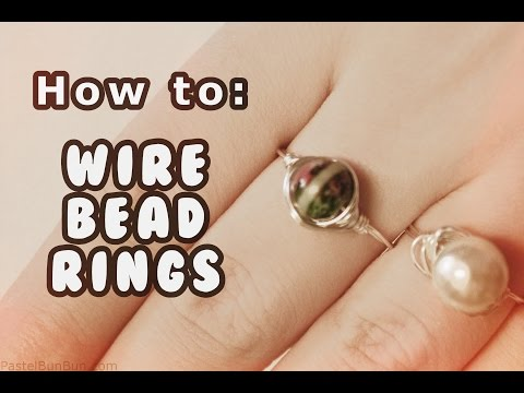 DAY #12 ❄ DIY Easy Wire Rings Tutorial ❄ (12 Days of Christmas)