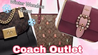 Coach Outlet Handbags Shopping New 70% off Winter Wonders Event