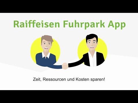 Raiffeisen Leasing - Fuhrpark-App für KMU