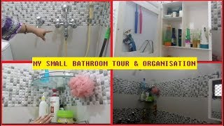 Indian small bathroom tour and organization ideas 2018