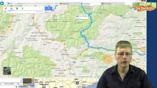 Project: Google Map route naar BaseCamp auto/motor route - Win/Mac Free HD Video